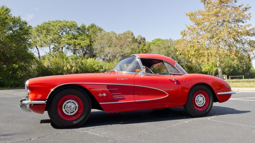 1960 Chevrolet Corvette Big Brake Fuelie 283/315 HP, 4-Speed presented as lot S194 at Kissimmee, FL 2012 - image2