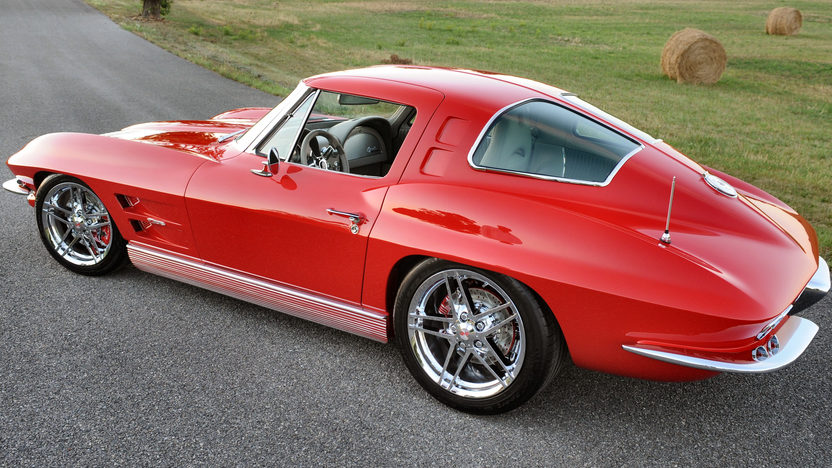 1963 Chevrolet Corvette Split Window Coupe 427/550 HP, 6-Speed presented as lot S226 at Kissimmee, FL 2012 - image7