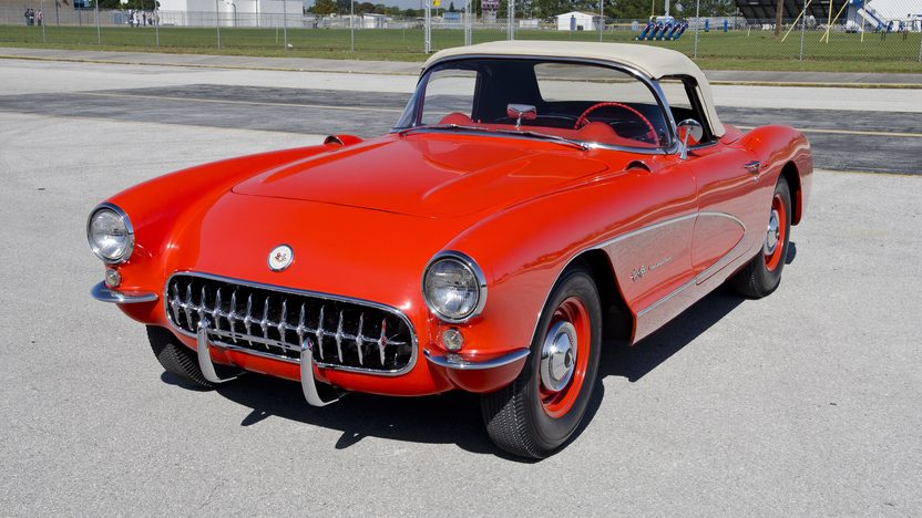 1957 Chevrolet Corvette Big Brake Fuelie 283/283 HP, 4-Speed presented as lot S167 at Kissimmee, FL 2012 - image8