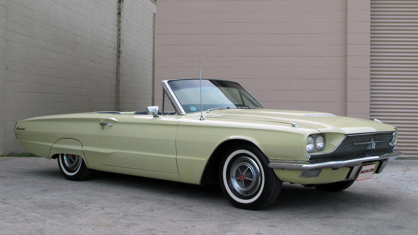 1966 Ford Thunderbird Convertible 390 CI, Automatic presented as lot G68 at Kissimmee, FL 2013 - image2