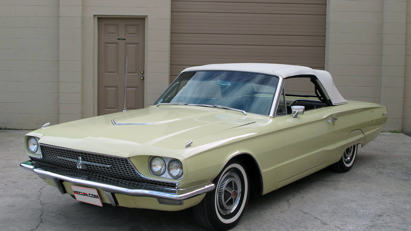 1966 Ford Thunderbird Convertible 390 CI, Automatic presented as lot G68 at Kissimmee, FL 2013 - image9