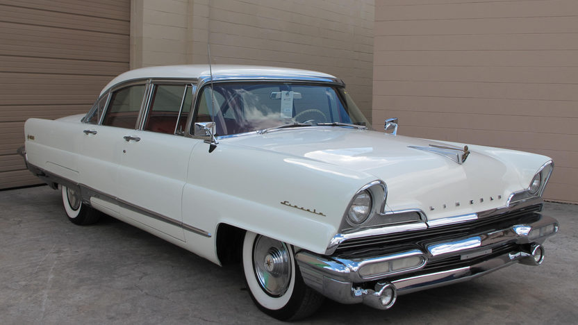 1956 Lincoln Premiere 368/285 HP, Automatic presented as lot G73 at Kissimmee, FL 2013 - image8