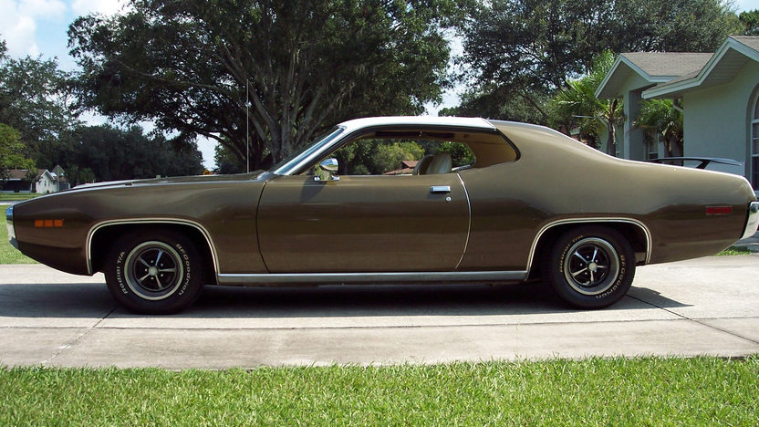 1971 Plymouth Satellite Sebring 318 CI, Automatic presented as lot G76 at Kissimmee, FL 2013 - image2