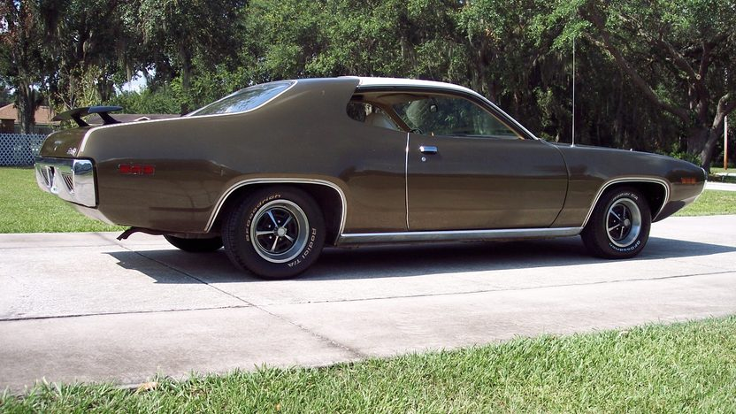 1971 Plymouth Satellite Sebring 318 CI, Automatic presented as lot G76 at Kissimmee, FL 2013 - image7