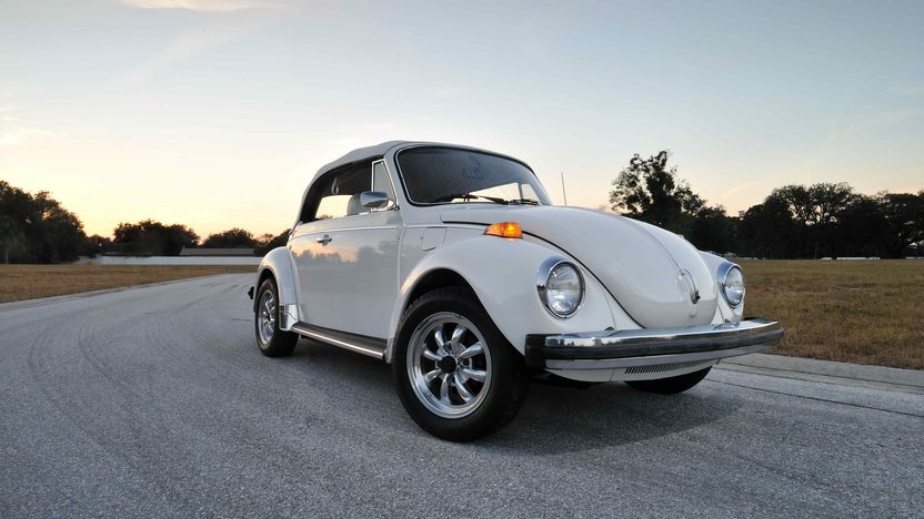 1977 Volkswagen Beetle Convertible Fully Restored, Triple White presented as lot G77 at Kissimmee, FL 2013 - image10