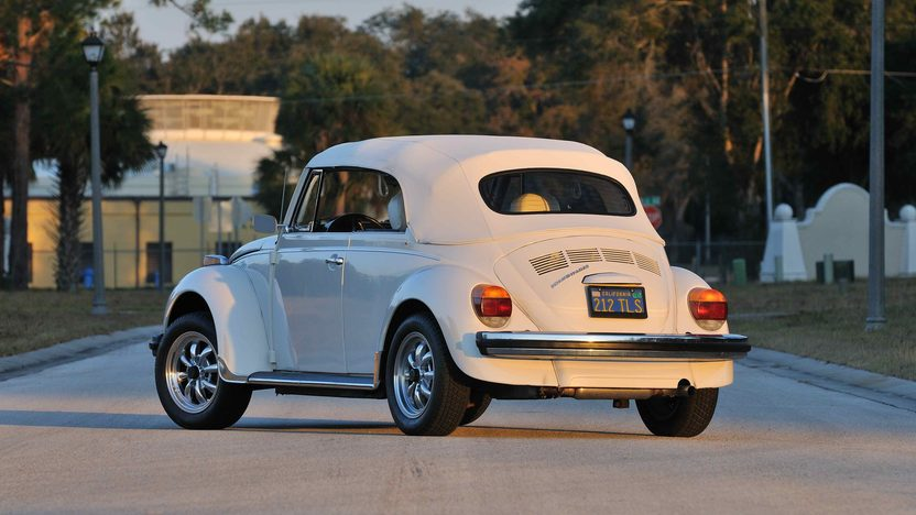 1977 Volkswagen Beetle Convertible Fully Restored, Triple White presented as lot G77 at Kissimmee, FL 2013 - image2