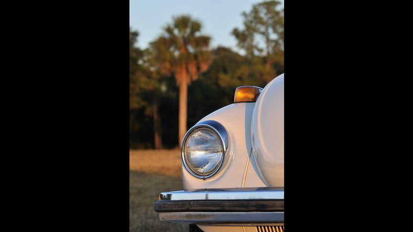 1977 Volkswagen Beetle Convertible Fully Restored, Triple White presented as lot G77 at Kissimmee, FL 2013 - image7