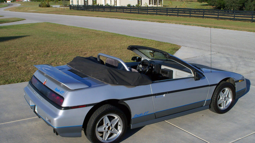 1985 Pontiac Fiero Convertible Conversion presented as lot G127 at Kissimmee, FL 2013 - image6
