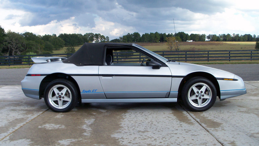 1985 Pontiac Fiero Convertible Conversion presented as lot G127 at Kissimmee, FL 2013 - image8
