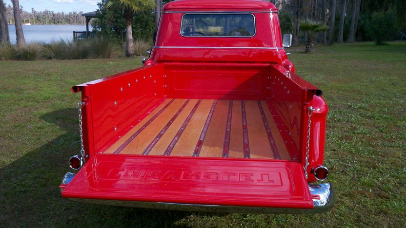 1958 Chevrolet Apache 3600 Pickup presented as lot G141 at Kissimmee, FL 2013 - image3