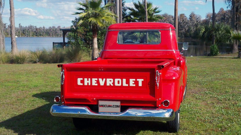1958 Chevrolet Apache 3600 Pickup presented as lot G141 at Kissimmee, FL 2013 - image4