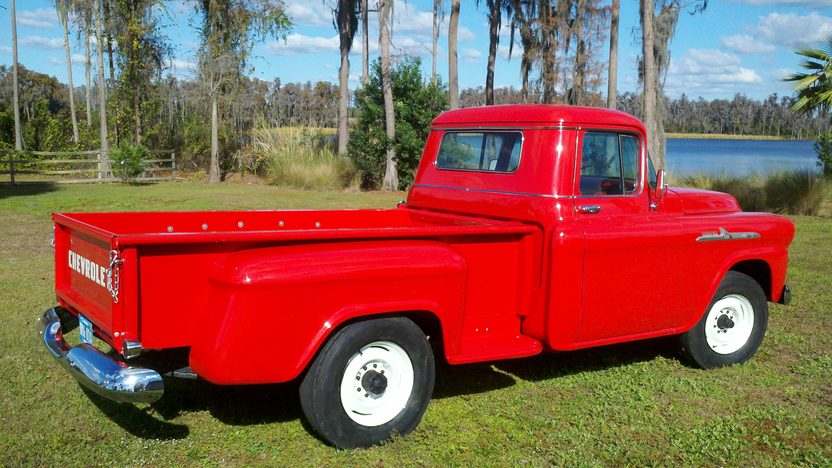 1958 Chevrolet Apache 3600 Pickup presented as lot G141 at Kissimmee, FL 2013 - image5