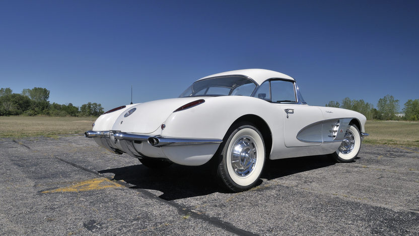 1960 Chevrolet Corvette Convertible 283 CI, 4-Speed, Two Tops presented as lot G155 at Kissimmee, FL 2013 - image11