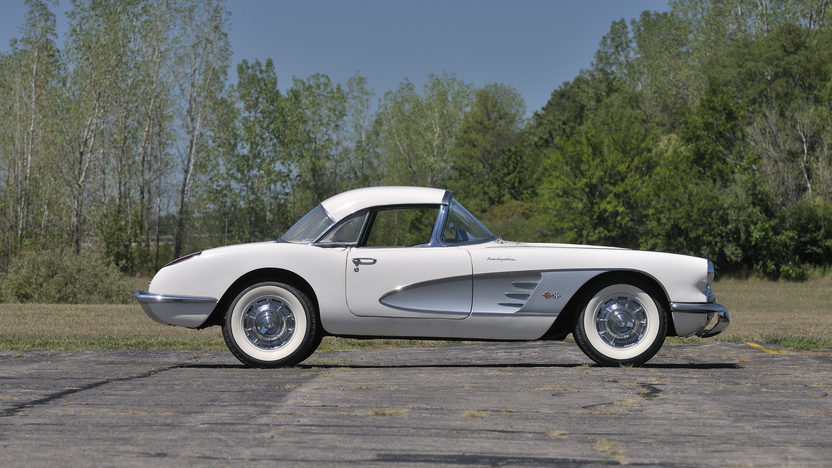 1960 Chevrolet Corvette Convertible 283 CI, 4-Speed, Two Tops presented as lot G155 at Kissimmee, FL 2013 - image2