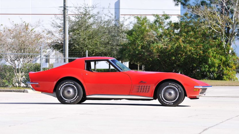 1972 Chevrolet Corvette LT1 Coupe Rare Factory Air, 1 of 240 Produced presented as lot G215 at Kissimmee, FL 2013 - image2