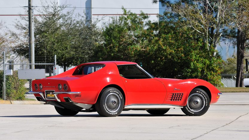 1972 Chevrolet Corvette LT1 Coupe Rare Factory Air, 1 of 240 Produced presented as lot G215 at Kissimmee, FL 2013 - image3