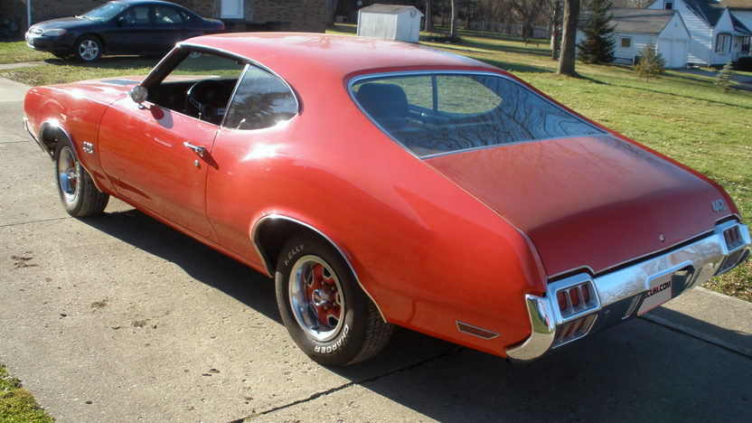 1972 Oldsmobile Cutlass 442 350 CI, Automatic presented as lot G227 at Kissimmee, FL 2013 - image2