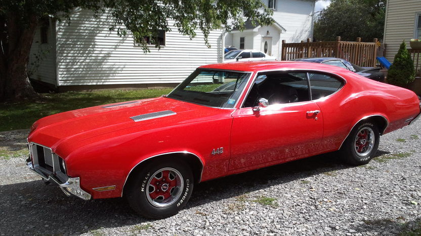 1972 Oldsmobile Cutlass 442 350 CI, Automatic presented as lot G227 at Kissimmee, FL 2013 - image7