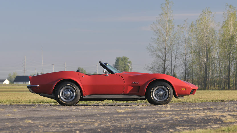 1973 Chevrolet Corvette Convertible 454/275 HP, Factory Air presented as lot K191 at Kissimmee, FL 2013 - image2