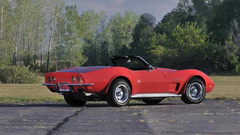 1973 Chevrolet Corvette Convertible 454/275 HP, Factory Air presented as lot K191 at Kissimmee, FL 2013 - image3