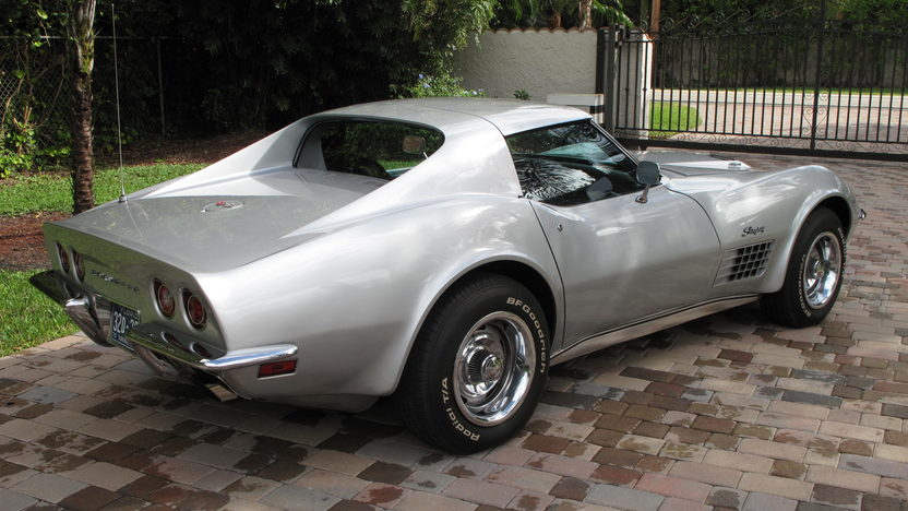 1970 Chevrolet Corvette Coupe 454/390 HP, Automatic presented as lot W190 at Kissimmee, FL 2013 - image2