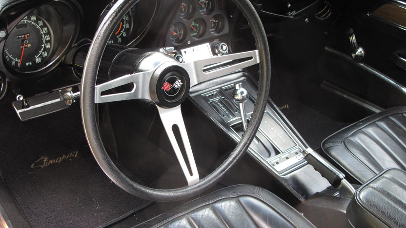 1970 Chevrolet Corvette Coupe 454/390 HP, Automatic presented as lot W190 at Kissimmee, FL 2013 - image3