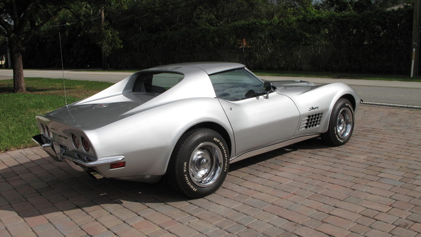 1970 Chevrolet Corvette Coupe 454/390 HP, Automatic presented as lot W190 at Kissimmee, FL 2013 - image5