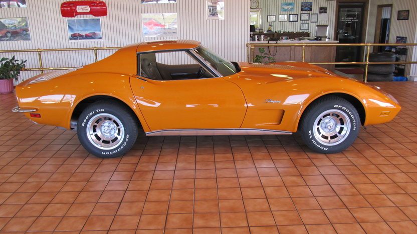 1973 Chevrolet Corvette 350/190 HP, 4-Speed presented as lot W195 at Kissimmee, FL 2013 - image2