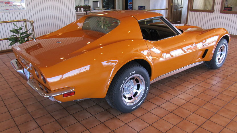 1973 Chevrolet Corvette 350/190 HP, 4-Speed presented as lot W195 at Kissimmee, FL 2013 - image3