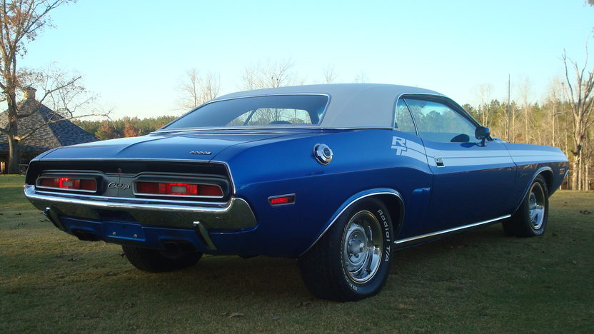 1971 Dodge Challenger R/T 340 CI, Automatic presented as lot W260 at Kissimmee, FL 2013 - image3