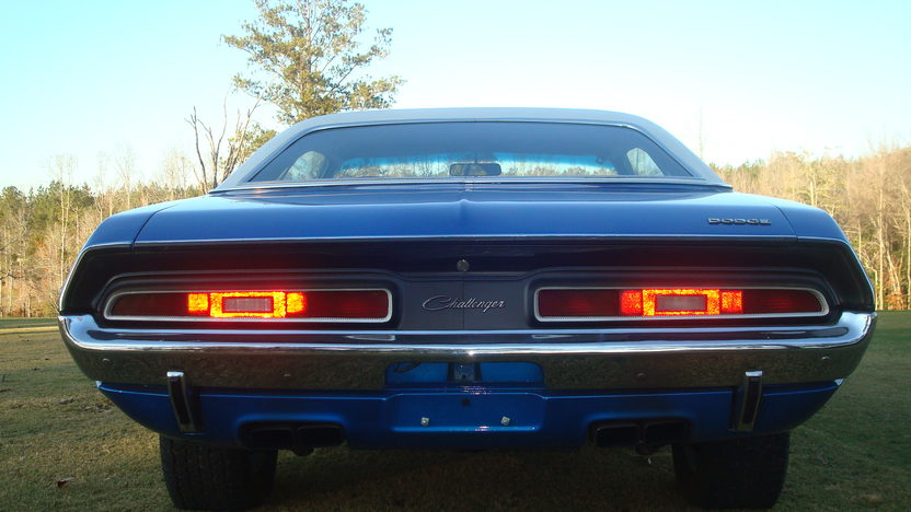 1971 Dodge Challenger R/T 340 CI, Automatic presented as lot W260 at Kissimmee, FL 2013 - image7