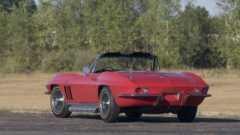 1966 Chevrolet Corvette Convertible 427/425 HP, Triple Crown presented as lot S150 at Kissimmee, FL 2013 - image2