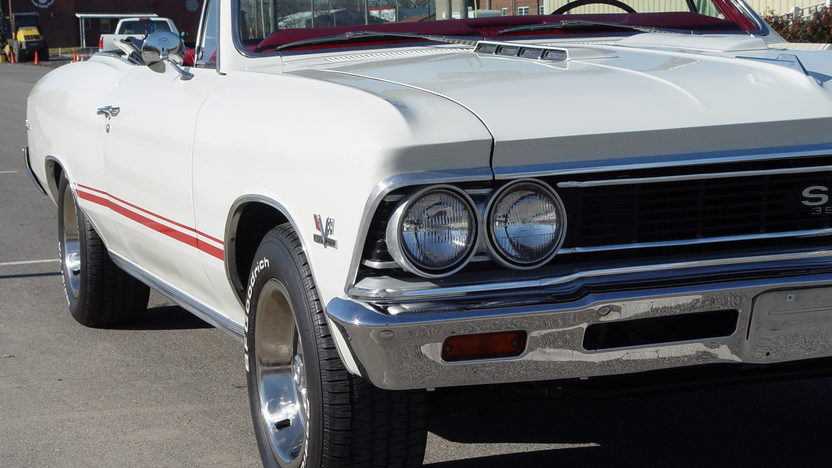 1966 Chevrolet Chevelle SS Convertible 396/325 HP, 4-Speed presented as lot W289 at Kissimmee, FL 2013 - image6