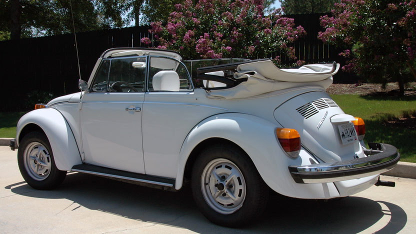 1979 Volkswagen Beetle Convertible Triple White, Window Sticker presented as lot W293 at Kissimmee, FL 2013 - image2