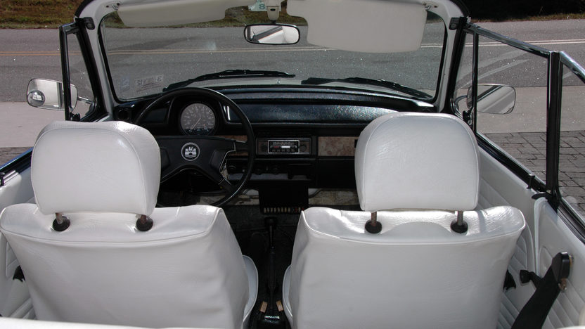 1979 Volkswagen Beetle Convertible Triple White, Window Sticker presented as lot W293 at Kissimmee, FL 2013 - image4