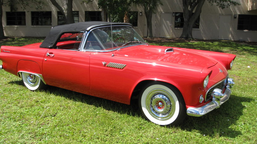 1955 Ford Thunderbird Convertible Full Restoration, Two Tops presented as lot W300 at Kissimmee, FL 2013 - image4