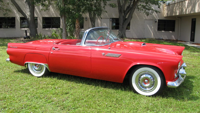 1955 Ford Thunderbird Convertible Full Restoration, Two Tops presented as lot W300 at Kissimmee, FL 2013 - image5