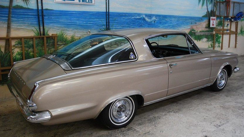 1965 Plymouth Barracuda 273 CI, 4-Speed presented as lot W308 at Kissimmee, FL 2013 - image2