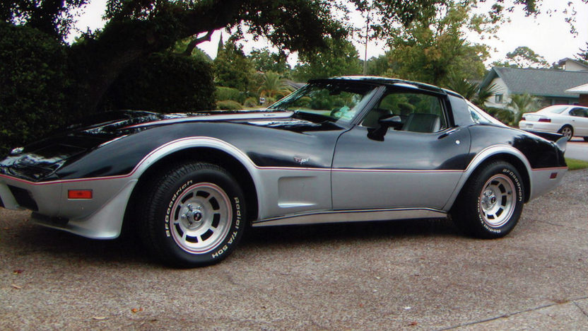 1978 Chevrolet Corvette Pace Car Edition L82, 4-Speed presented as lot W311 at Kissimmee, FL 2013 - image2