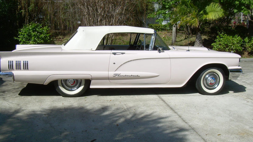 1960 Ford Thunderbird Convertible 352 CI, Automatic presented as lot W322 at Kissimmee, FL 2013 - image2