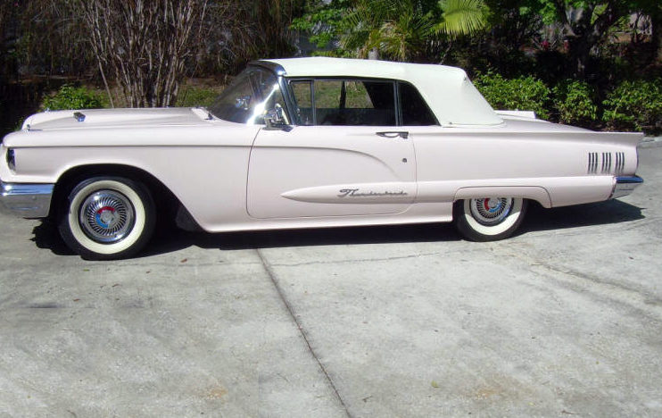 1960 Ford Thunderbird Convertible 352 CI, Automatic presented as lot W322 at Kissimmee, FL 2013 - image6