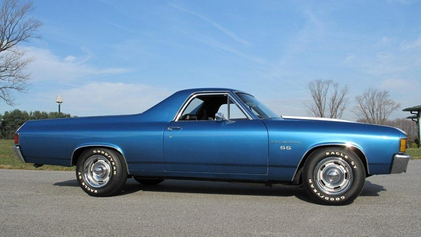 1972 Chevrolet El Camino 454/450 HP, Automatic presented as lot W339 at Kissimmee, FL 2013 - image2