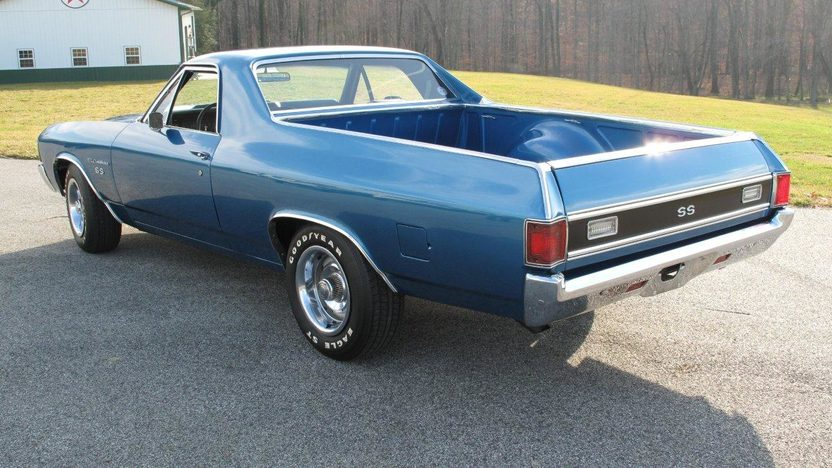 1972 Chevrolet El Camino 454/450 HP, Automatic presented as lot W339 at Kissimmee, FL 2013 - image7