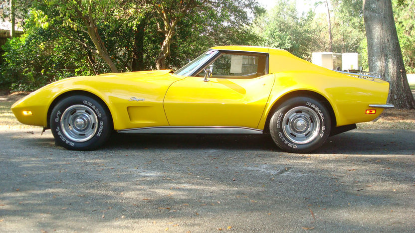 1973 Chevrolet Corvette Coupe 454 CI, 4-Speed presented as lot W347 at Kissimmee, FL 2013 - image2