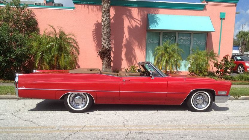 1968 Cadillac Deville Convertible 472 CI, Automatic presented as lot W350 at Kissimmee, FL 2013 - image2