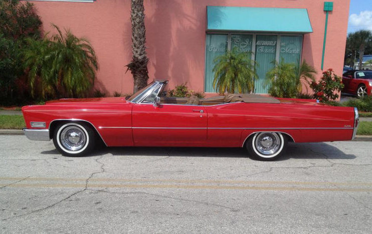 1968 Cadillac Deville Convertible 472 CI, Automatic presented as lot W350 at Kissimmee, FL 2013 - image7