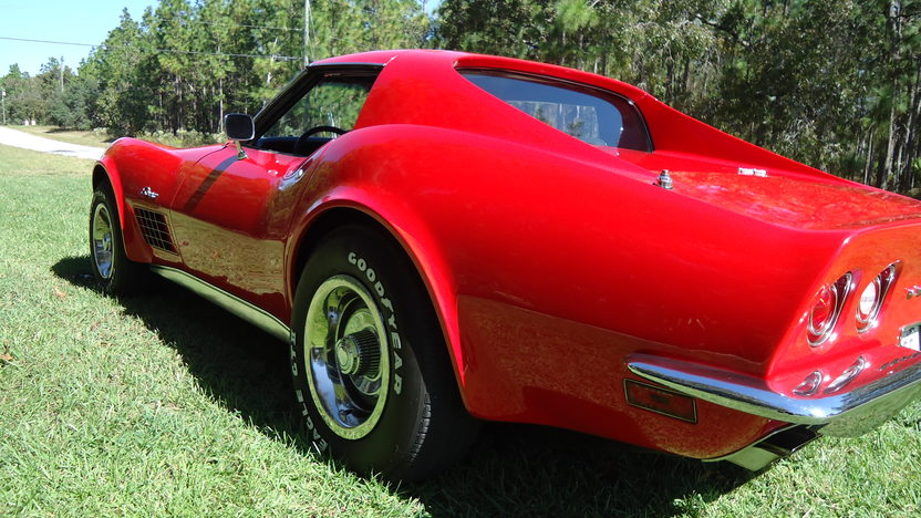 1971 Chevrolet Corvette LT1 Coupe 350/330 HP, 4-Speed presented as lot T9 at Kissimmee, FL 2013 - image5