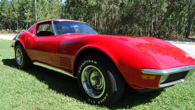 1971 Chevrolet Corvette LT1 Coupe 350/330 HP, 4-Speed presented as lot T9 at Kissimmee, FL 2013 - image6