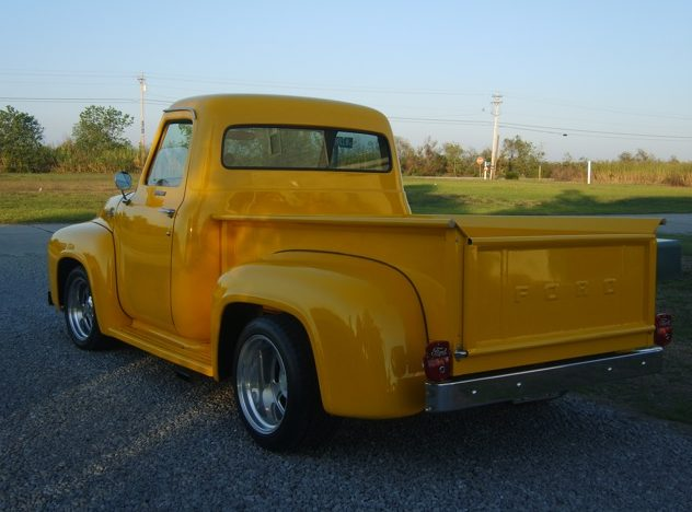 1955 Ford F100 Pickup 427/525 HP, Automatic presented as lot T16 at Kissimmee, FL 2013 - image3