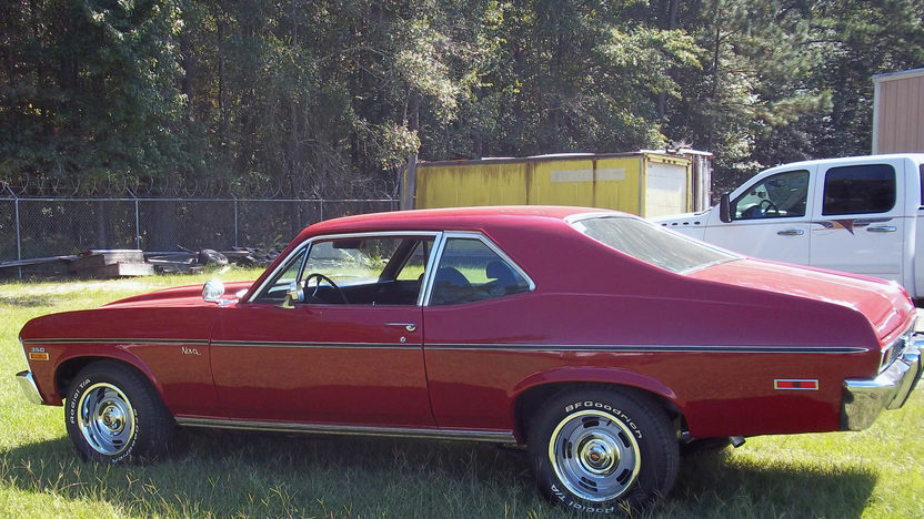 1972 Chevrolet Nova 350 CI, Automatic presented as lot T50 at Kissimmee, FL 2013 - image5
